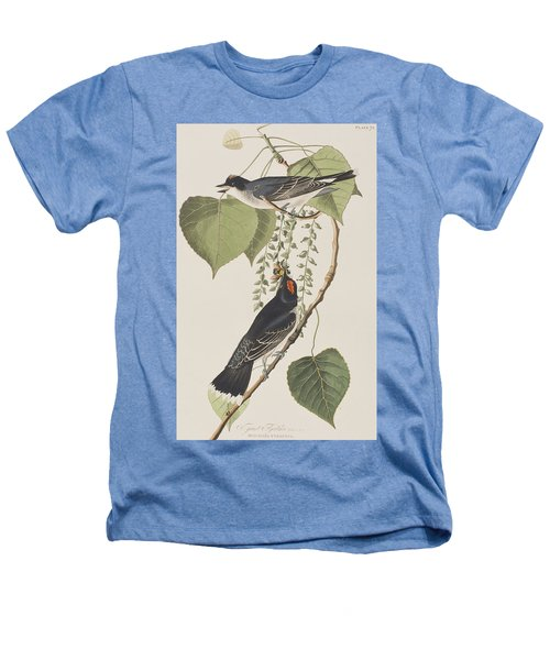 Tyrant Fly Catcher Heathers T-Shirt by John James Audubon
