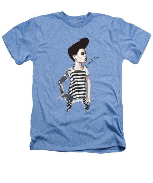 untitled II Heathers T-Shirt by Balazs Solti