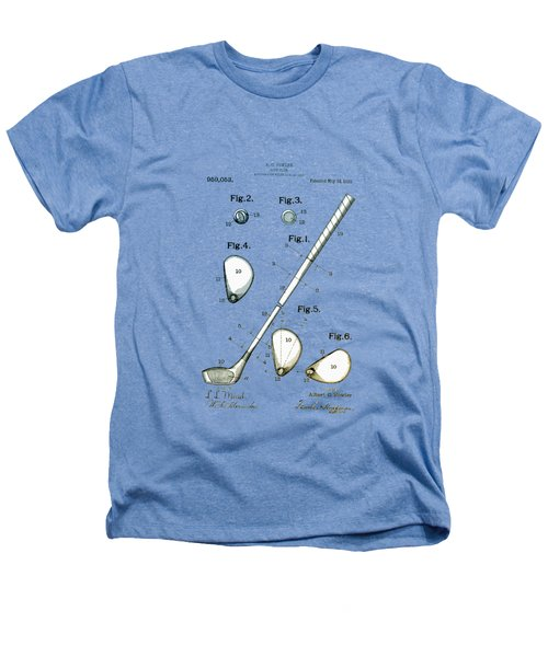 Vintage 1910 Golf Club Patent Heathers T-Shirt by Bill Cannon