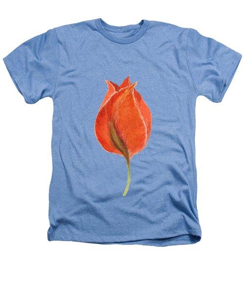 Vintage Tulip Watercolor Phone Case Heathers T-Shirt by Edward Fielding