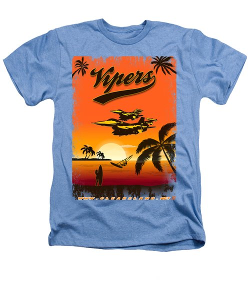 Vipers  F16 Heathers T-Shirt by Clear II land Net