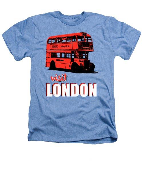 Visit London Tee Heathers T-Shirt by Edward Fielding