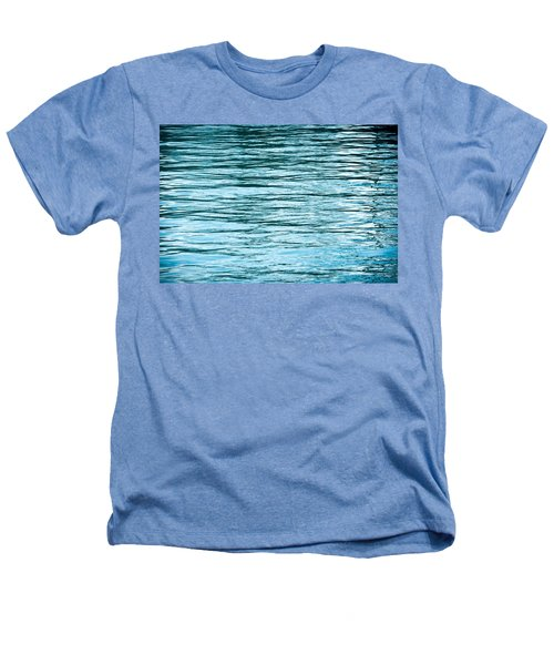 Water Flow Heathers T-Shirt by Steve Gadomski