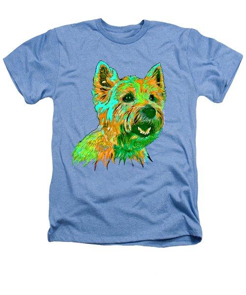 West Highland Terrier Heathers T-Shirt by Marlene Watson