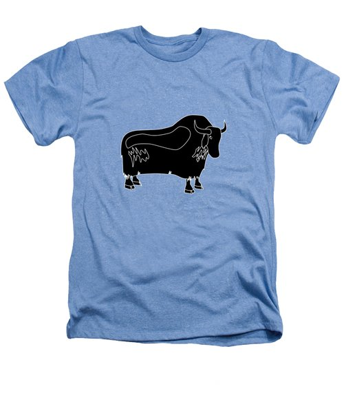 Yak Heathers T-Shirt by Frederick Holiday