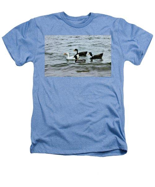 Yak Yak Yak One In Every Crowd Heathers T-Shirt by Kristin Elmquist