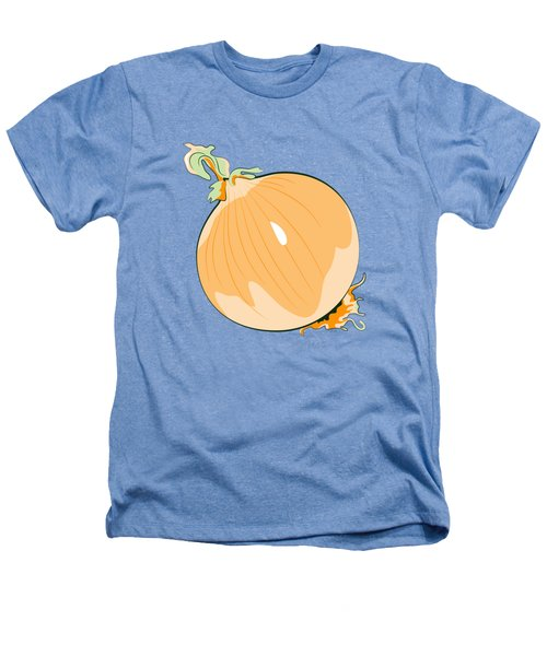 Yellow Onion Heathers T-Shirt by MM Anderson