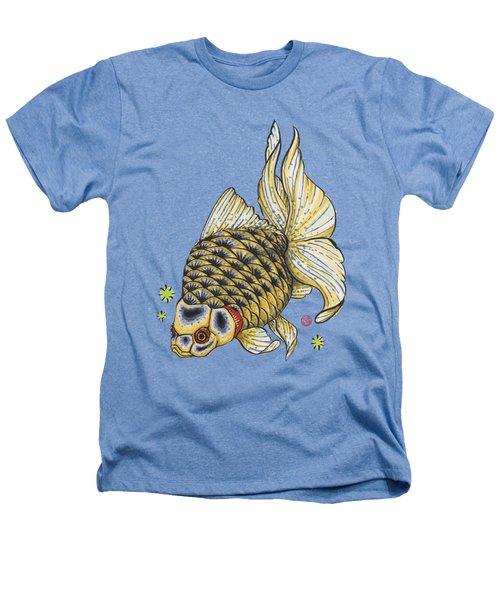 Yellow Ryukin Heathers T-Shirt by Shih Chang Yang
