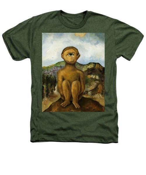 Cyclops Heathers T-Shirt by Leah Saulnier The Painting Maniac