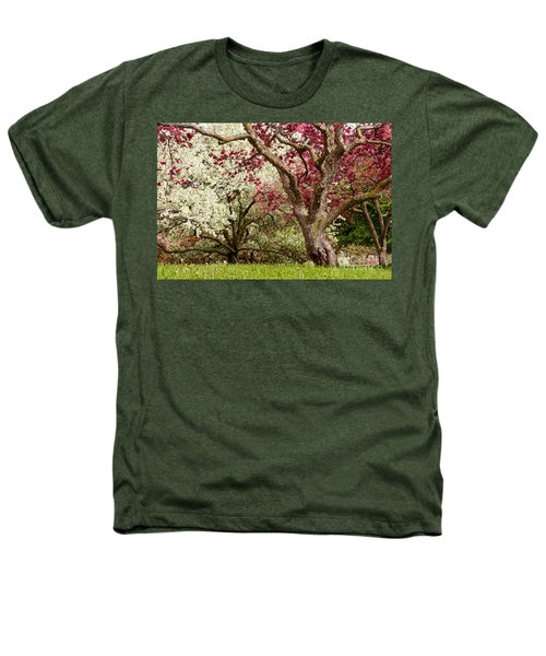 Apple Blossom Colors Heathers T-Shirt by Joe Mamer