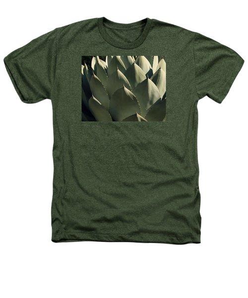 Blue Aloe Heathers T-Shirt by Ellen Henneke