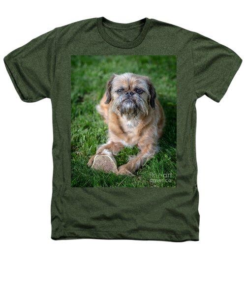 Brussels Griffon Heathers T-Shirt by Edward Fielding