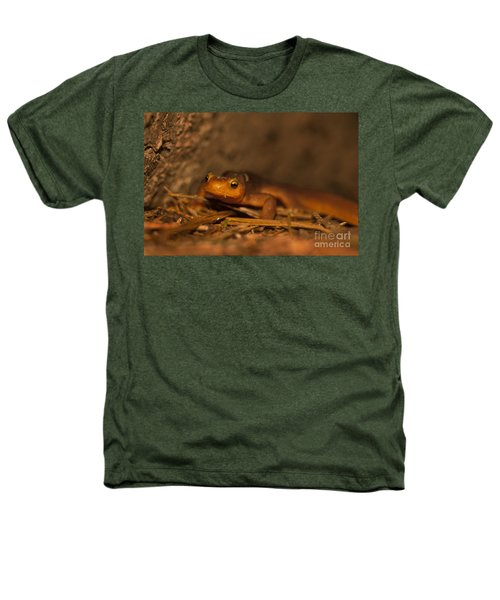 California Newt Heathers T-Shirt by Ron Sanford