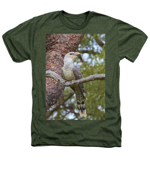 Channel-billed Cuckoo Fledgling Heathers T-Shirt by Martin Willis