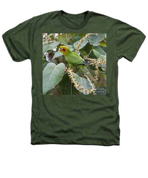 Chiriqui Conure 2 Heathers T-Shirt by Heiko Koehrer-Wagner