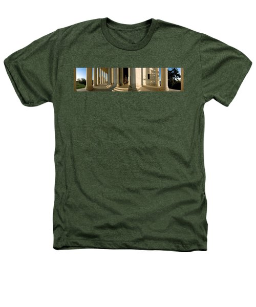 Columns Of A Memorial, Jefferson Heathers T-Shirt by Panoramic Images