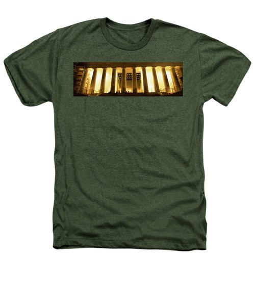 Columns Surrounding A Memorial, Lincoln Heathers T-Shirt by Panoramic Images