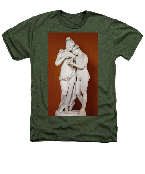 Cupid And Psyche Heathers T-Shirt by Antonio Canova