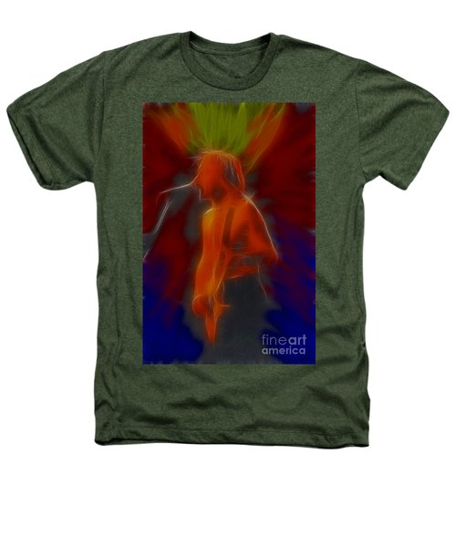 Def Leppard-adrenalize-gb13-phil-fractal Heathers T-Shirt by Gary Gingrich Galleries