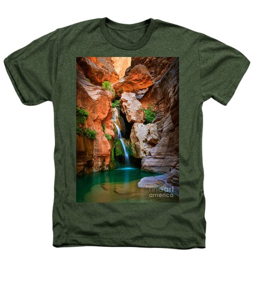 Elves Chasm Heathers T-Shirt by Inge Johnsson