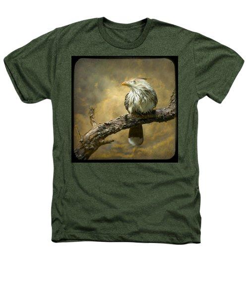 Exotic Bird - Guira Cuckoo Bird Heathers T-Shirt by Gary Heller