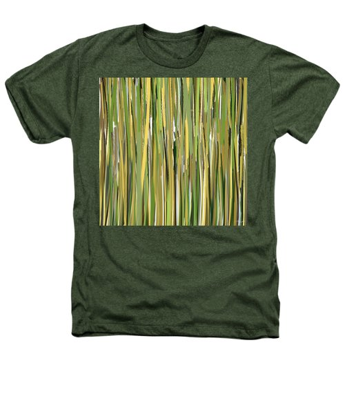 Green Melodies Heathers T-Shirt by Lourry Legarde