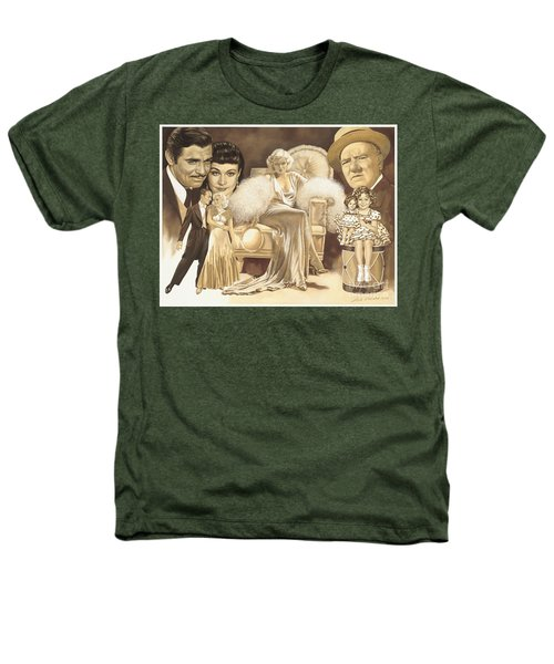 Hollywoods Golden Era Heathers T-Shirt by Dick Bobnick