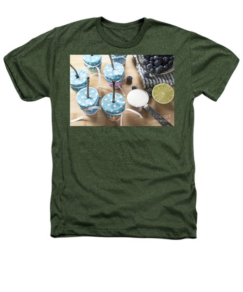 Homemade Blueberry Popsicles Heathers T-Shirt by Juli Scalzi