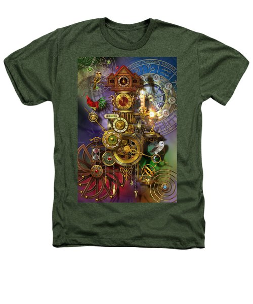 Its About Time Heathers T-Shirt by Ciro Marchetti