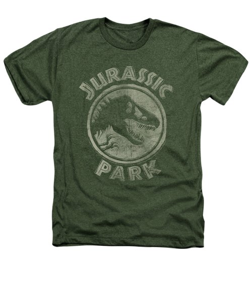 Jurassic Park - Jp Stamp Heathers T-Shirt by Brand A