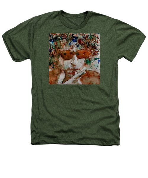 Just Like A Woman Heathers T-Shirt by Paul Lovering