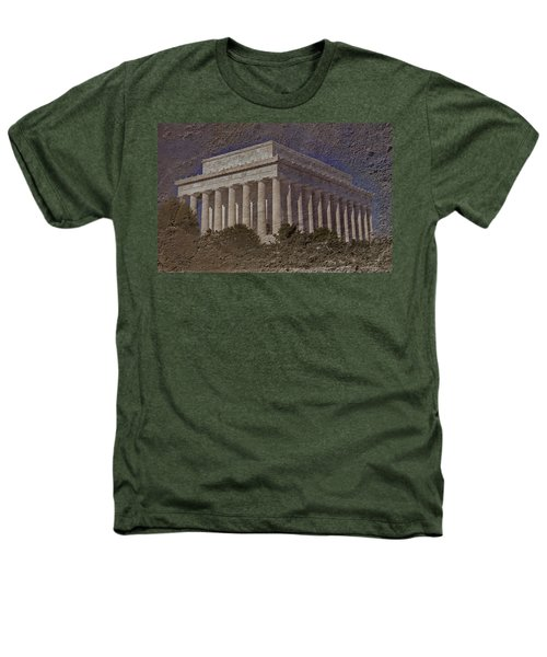 Lincoln Memorial Heathers T-Shirt by Skip Willits