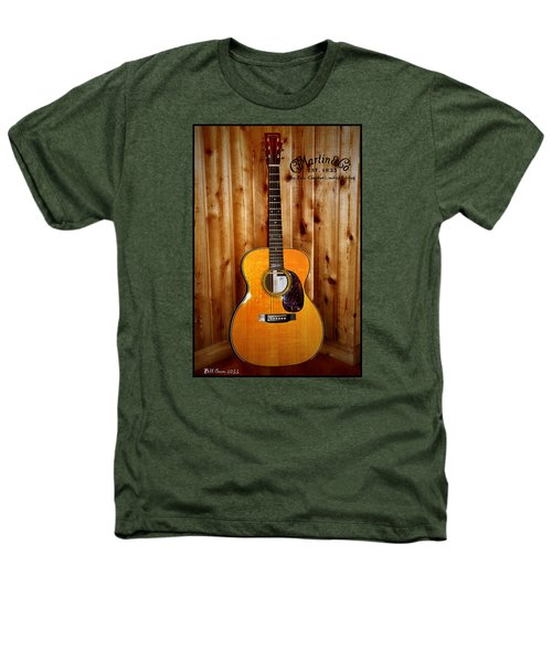 Martin Guitar - The Eric Clapton Limited Edition Heathers T-Shirt by Bill Cannon