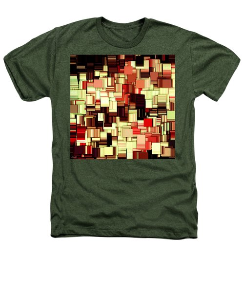 Modern Abstract Art Xvii Heathers T-Shirt by Lourry Legarde