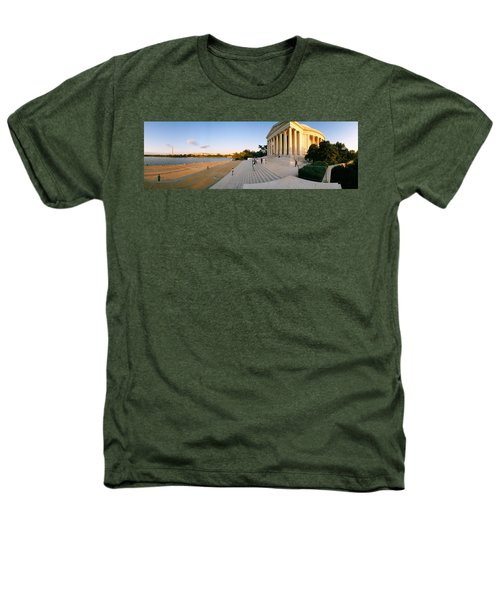 Monument At The Riverside, Jefferson Heathers T-Shirt by Panoramic Images