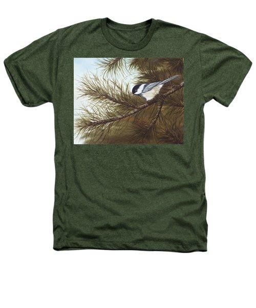 Out On A Limb Heathers T-Shirt by Rick Bainbridge