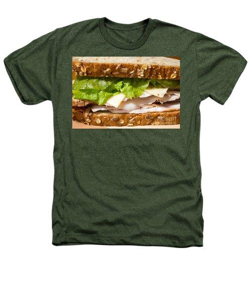Smoked Turkey Sandwich Heathers T-Shirt by Edward Fielding