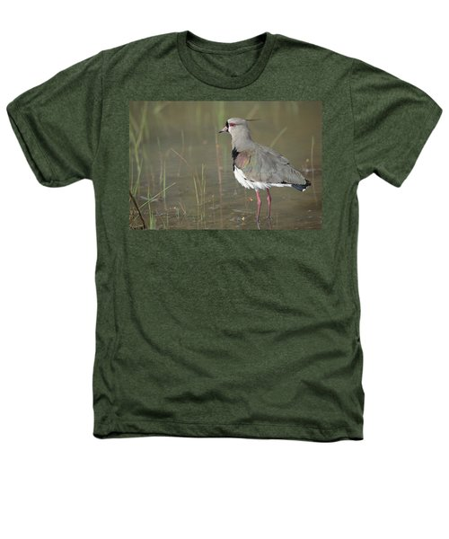 Southern Lapwing In Marshland Pantanal Heathers T-Shirt by Tui De Roy