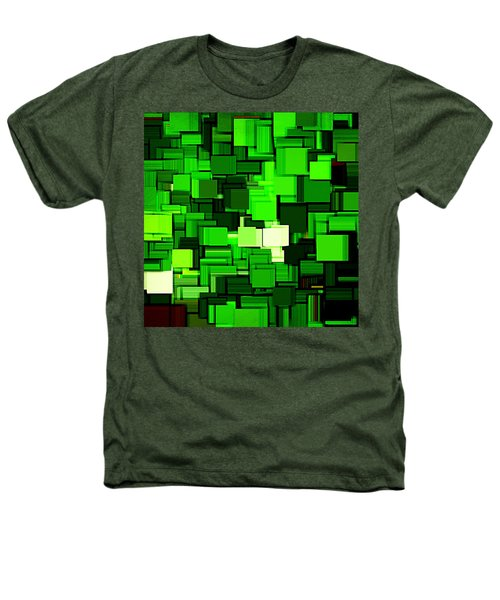 Spring Modern Abstract Xiv Heathers T-Shirt by Lourry Legarde