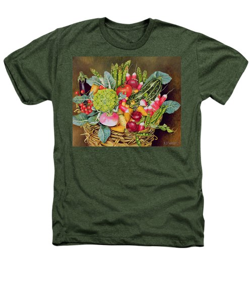 Summer Vegetables Heathers T-Shirt by EB Watts