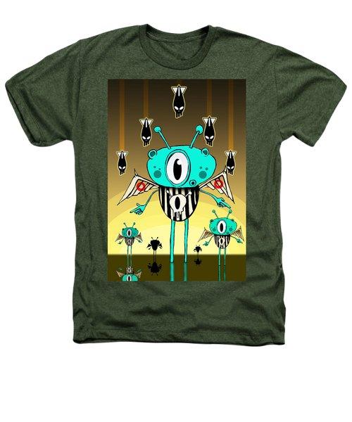 Team Alien Heathers T-Shirt by Johan Lilja