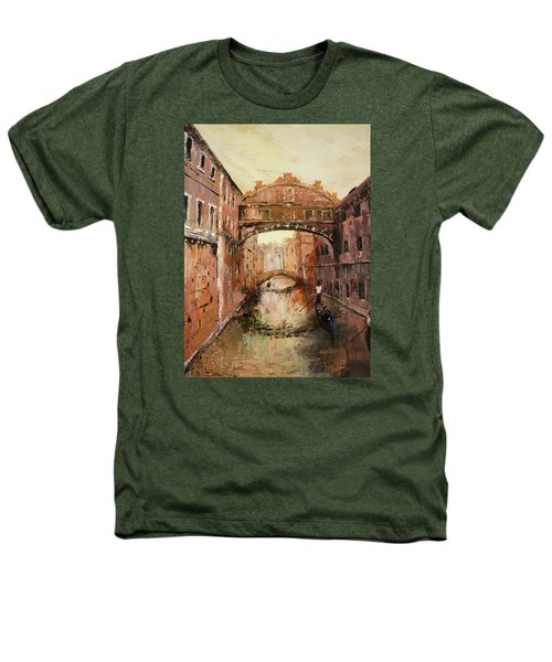 The Bridge Of Sighs Venice Italy Heathers T-Shirt by Jean Walker