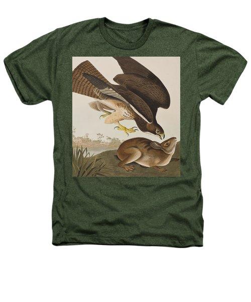 The Common Buzzard Heathers T-Shirt by John James Audubon