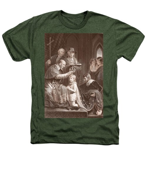 The Coronation Of Henry Vi, Engraved Heathers T-Shirt by John Opie