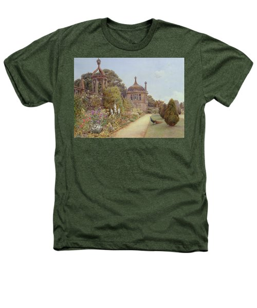 The Gardens At Montacute In Somerset Heathers T-Shirt by Ernest Arthur Rowe