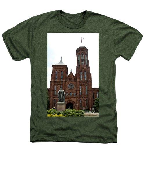 The Smithsonian - Washington Dc Heathers T-Shirt by Christiane Schulze Art And Photography