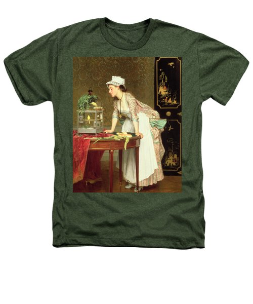 The Yellow Canaries Heathers T-Shirt by Joseph Caraud