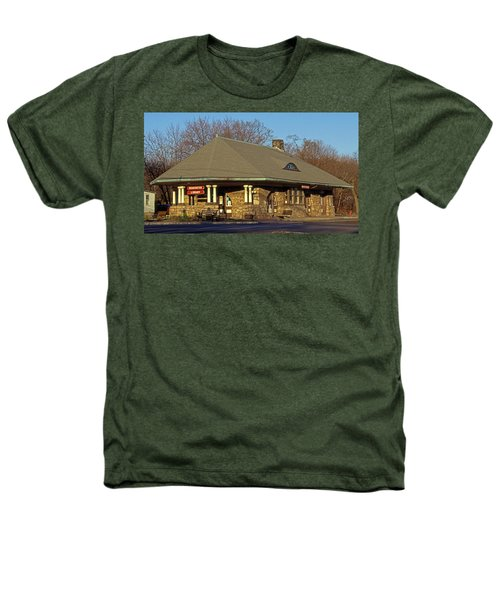 Train Stations And Libraries Heathers T-Shirt by Skip Willits
