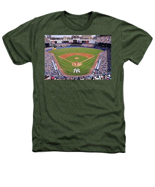 Yankee Stadium Heathers T-Shirt by Allen Beatty