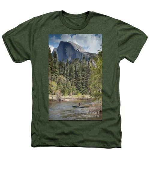 Yosemite National Park. Half Dome Heathers T-Shirt by Juli Scalzi